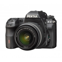 Pentax K-3 Zwart  + DAL 18-55WR + tas + kaart
