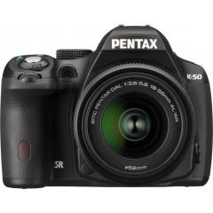 Pentax K-50 Zwart + DAL 18-55WR
