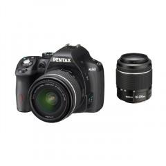Pentax K-50 Zwart + DAL 18-55WR + DAL 50-200WR+8gbkaart+tas