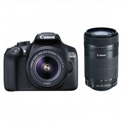 Canon EOS 1300D + 18-55 + 55-250 +TAS+16GB