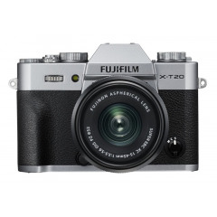 Fujifilm X-T20 Zilver +  XC15-45mm
