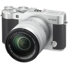 Fujifilm X-A3 Silver + 16-50mm kit