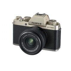 Fujifilm X-T100 Champagne + 15-45mm