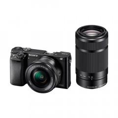 Sony A6000 Black + 16-50PZ + 55-210