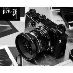 Olympus PEN-F + 17mm 1.8 Kit blk/blk