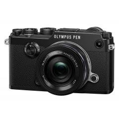 Olympus PEN-F Pancake Zoom Kit blk/blk
