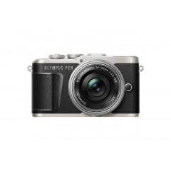 Olympus PEN E-PL9 Black + Pancake 14-42mm f/3.5-5.6 Silver