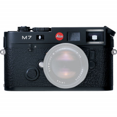 Leica 10503 M7 (0.72) black chrome finish