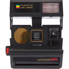Polaroid Impossible Refurbished sun 660 AF camera