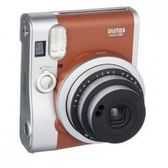 Fujifilm INSTAX MINI 90 BROWN + Black Leather case + Film