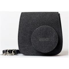 Fujifilm INSTAX Mini 8 Case Black Linnen + Strap