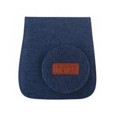 Fujifilm INSTAX Mini 8 Case Jeans + Strap