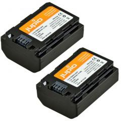 Jupio USB single charger + 2x Sony NP-FZ100