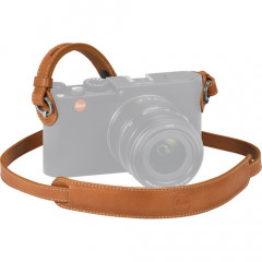 Leica 18777 Carrying Strap Leather Cognac (X and M)