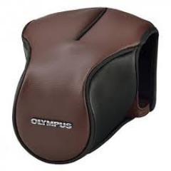 Olympus CS-46FBC Lederen tas bruin voor E-M5 MII