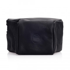 Leica 14893 Leather pouch, black, short