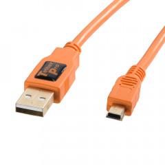 TetherTools CU5451 TetherPro USB 2.0 to Mini-B 4,6m ORG