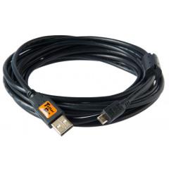 TetherTools CU5430BLK TetherPro USB2.0 to Micro 4,6m