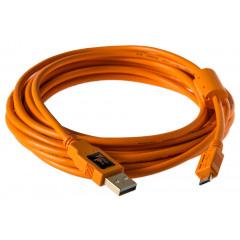 TetherTools CU5430ORG TetherPro USB2.0 to Micro 4,6m