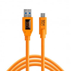 TetherTools CUC3215-ORG USB 3.0 to USB-C 4,6m ORG