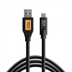 TetherTools CUC3215-BLK USB 3.0 to USB-C 4,6m BLK