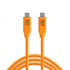 TetherTools CUC15-ORG USB-C to USB-C 4,6m ORG