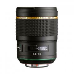 Pentax HD 50mm 1.4 SDM AW W/C zwart