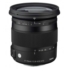 Sigma 17-70/2.8-4 DC MACRO OS HSM Nikon