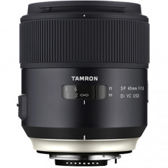 Tamron SP 45MM F1.8 AF DI VC USD MACRO NEW LOOK Nikon