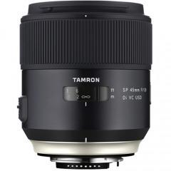 Tamron SP 45MM F1.8 AF DI VC USD MACRO NEW LOOK Canon