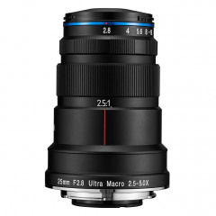 Laowa Venus 25mm f/2.8 2.5-5X Ultra-Macro Lens - Sony FE