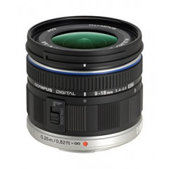 Olympus M.ZUIKO ED 9-18mm 4.0-5.6 black