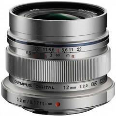 Olympus M.ZUIKO ED 12mm 2.0 silver