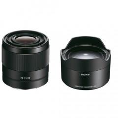 Sony SEL FE 28MM F2.0 + Ultra Wide Converter