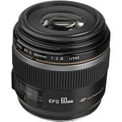 Canon - EF-S 60MM 2.8 USM MACRO