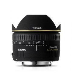 Sigma 15mm F2.8 EX DG Diag. Fisheye Canon AF