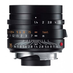 Leica 11663 M-35MM F1.4 SUMMILUX ASPH. BLACK