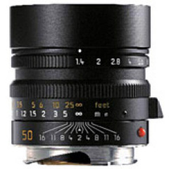 Leica 11891 M-50MM F1.4 SUMMILUX ASPH. BLACK