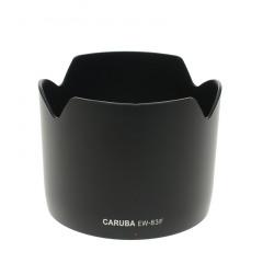Caruba Canon EW-83F Zwart