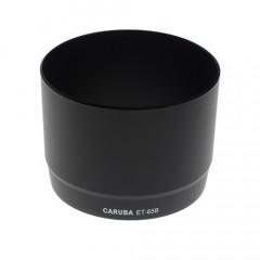 Caruba Zonnekap ET-65B Zwart Canon