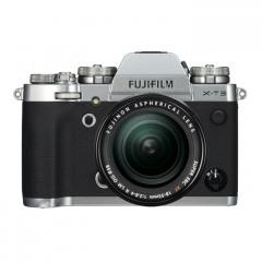 Fujifilm X-T3 zilver + 18-55mm