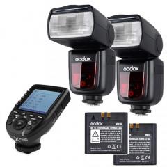 Godox Speedlite V860II Canon X-Pro Duo Kit