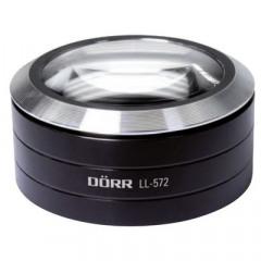 DORR LL-572 Professionele Led Loep (5x / 72mm) zwart