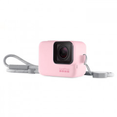 GoPro Sleeve + Lanyard (Color Pink)