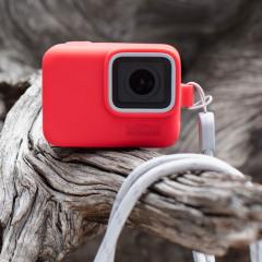 GoPro Sleeve + Lanyard (Color Pink)