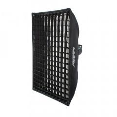 Godox Paraplu Softbox Bowens met Grid 60x90cm