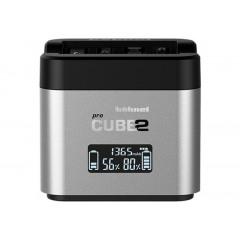Hähnel ProCube2 Acculader voor Canon Batterijen LP-E6 - LP-E8 - LP-E17