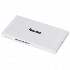 Hama USB-3.0-multi-kaartlezer, SD/microSD/CF, wit 181017