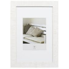 Henzo Driftwood 24x30 Frame   White 80.735.02