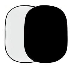 Linkstar Background Board R-1482WB Wit/Zwart 148x200 cm